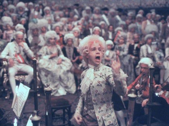 Tom Hulce as Mozart in 'Amadeus.'