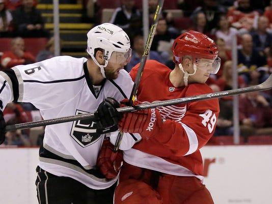 Kings Red Wings Hockey