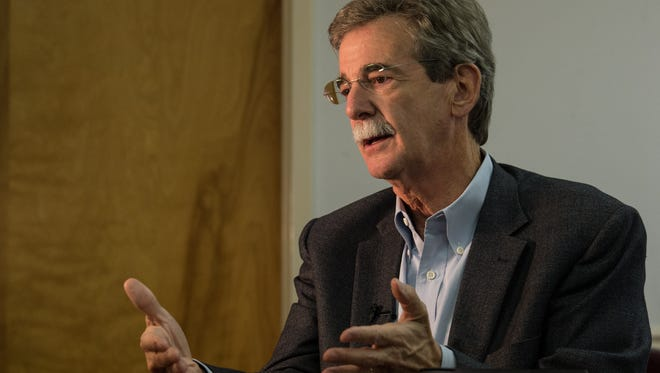 Maryland Attorney General Brian Frosh during an interview on Thursday, Aug. 17, 2017.