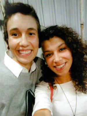 Alexandra King and Tatianna Diz