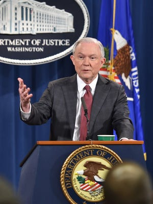 Attorney General Jeff Sessions on March 2, 2017.