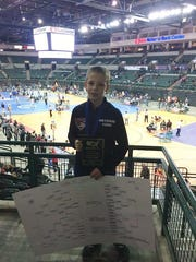 T.J. Morton, a seventh grader at Netcong Elementary School, won the 2017 USA Wrestling New Jersey Scholastic State Tournament.