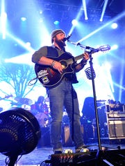 Zac Brown of Zac Brown Band perfoms onstage at the Bud Light Hotel on Feb. 1, 2014, in New York City.