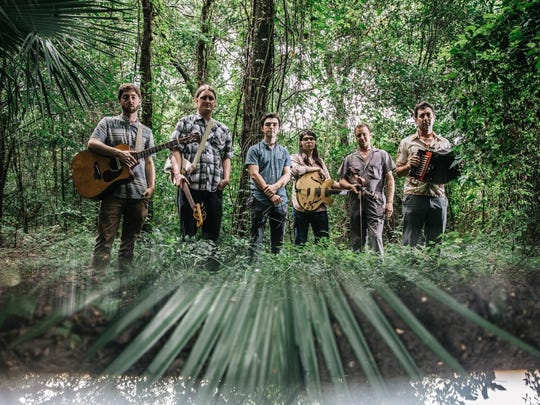 Founded by brothers Louis and Andre Michot, far right, the Lost Bayou Ramblers have been performing since 1999.