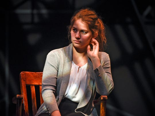 """Sarah Larson plays the lead role of Diana in the production of """"Next to Normal"""" Tuesday, Nov. 7, at the College of St. Benedict in St. Joseph."""