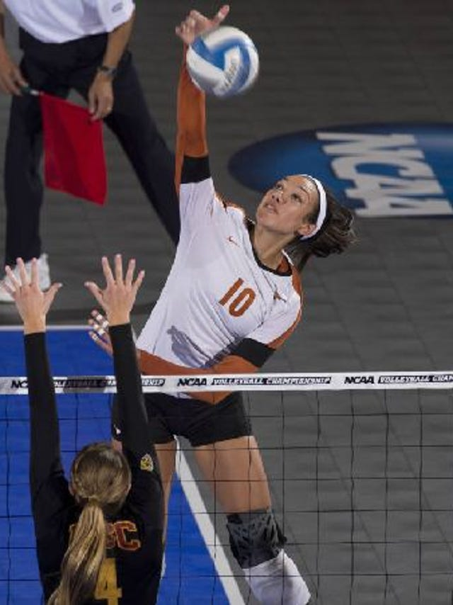 Iowa's Haley Eckerman is a volleyball world-traveler who's