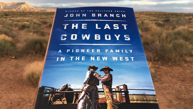 """John Branch's new book, """"The Last Cowboys,"""" about the Wright family from Milford, Utah."""