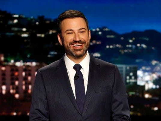 AP TV JIMMY KIMMEL HEALTH CARE A ENT FILE USA CA