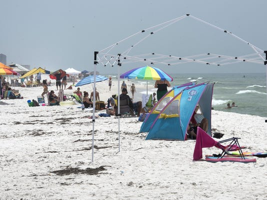 Temporary Beach Structures