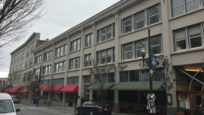 The Starnes Building at 34 Haywood St. in downtown Asheville will undergo a renovation that will see 15 hotel rooms added to its property this year.