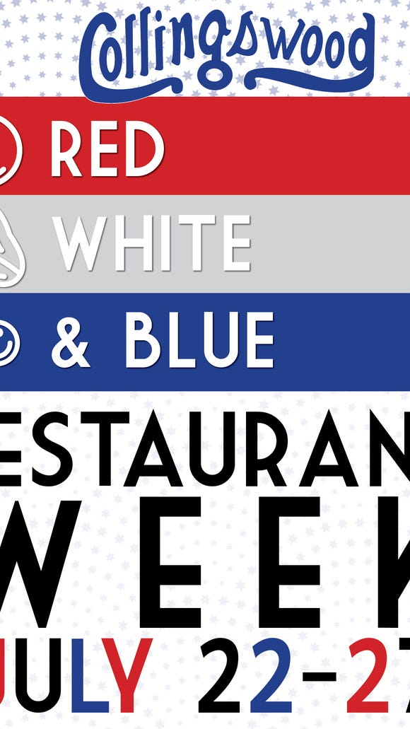 It's a patriotic theme as Collingswood salutes local
