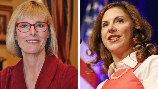 Suzanne Crouch is the Republican candidate for lieutenant governor, and Christina Hale is the Democratic candidate for lieutenant governor.
