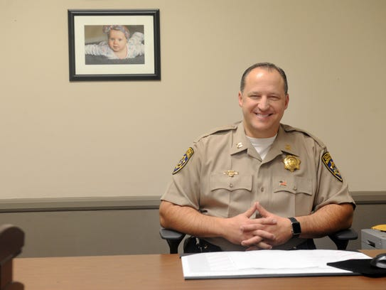 Aaron Goulding is the new California Highway Patrol
