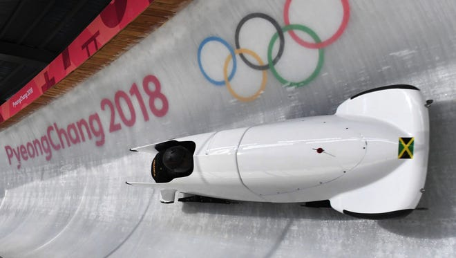 The Jamaican bobsled women's team will be breaking in a new sled.
