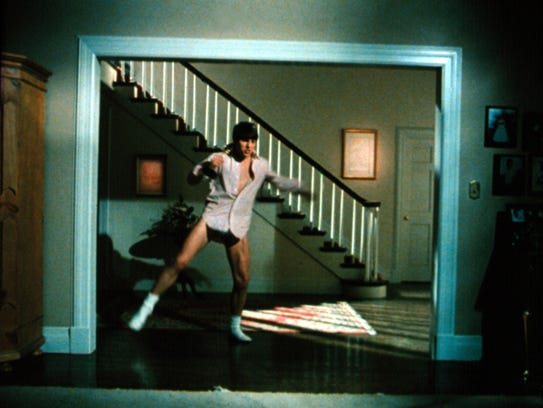 Tom Cruise in the classic scene from 'Risky Business.'