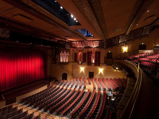 The Fox Performing Arts Center in downtown offers a rich past and a popular present-day venue for entertainment.