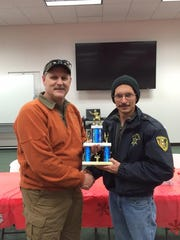 Steven Viola won second place in the Tactical Shooting Competition.
