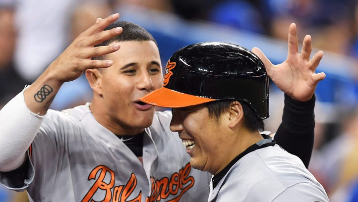 Kim's pinch-hit HR in 9th lifts Orioles past Jays