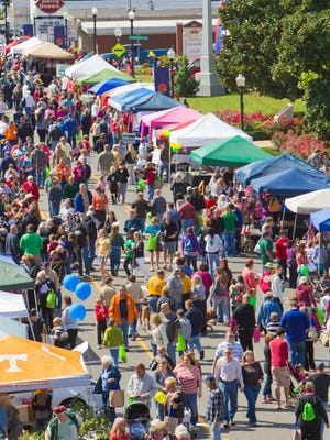 More than 170 vendors and an estimated crowd of 25,000 people are expected for the 34st annual Main Street Festival in downtown Gallatin.