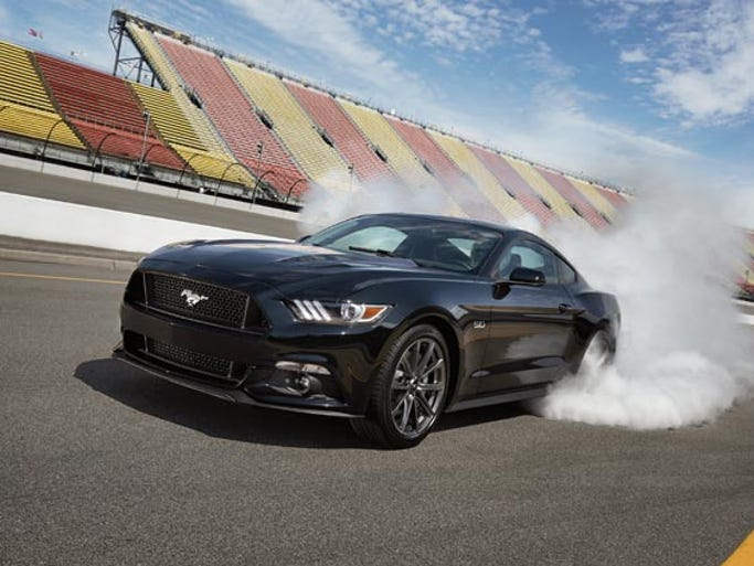 Gentlemen, start your engines! Here comes the 2015 Ford Mustang.