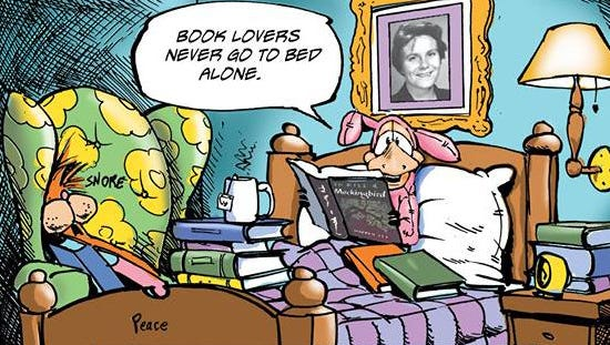 We all owe a bit of gratitude to Harper Lee for inspiring Berkeley Breathed to bring back Opus and Bill the Cat.