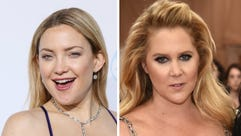 Kate Hudson (left) and Amy Schumer.