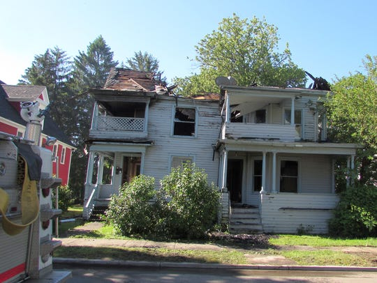 This vacant house on West Gray Street in Elmira was