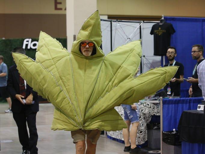 Jon Lockhart of Mesa attends the Southwest Cannabis