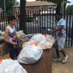 Demetrius Loat said there is a great need to feed the hungry in Wilmington.