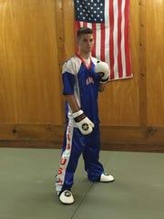 Hunter Carney, a junior at Stewarts Creek High, began