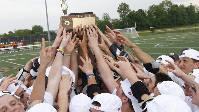 Victor has won state and Section V lacrosse titles the past two seasons. Blue Devils coach Jim Andre was named the National Lacrosse Coach of the Year after last season.