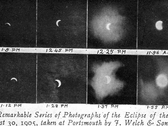 Capturing total solar eclipses was a difficult photograph