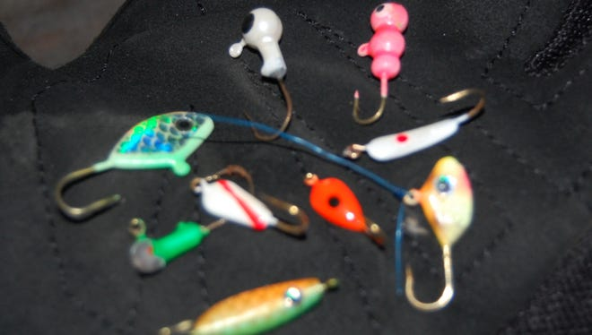 Jig color can make a world of difference when out ice fishing.
