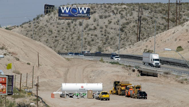 """Construction along I-10 continues after a short stopage when the original contractor backed out of the contract. The """"Go 10"""" project is in full swing and El Paso's West Side is about to become a nightmare for motorists. The project from Executive Center Boulevard and North Mesa Street exits will get major improvements."""