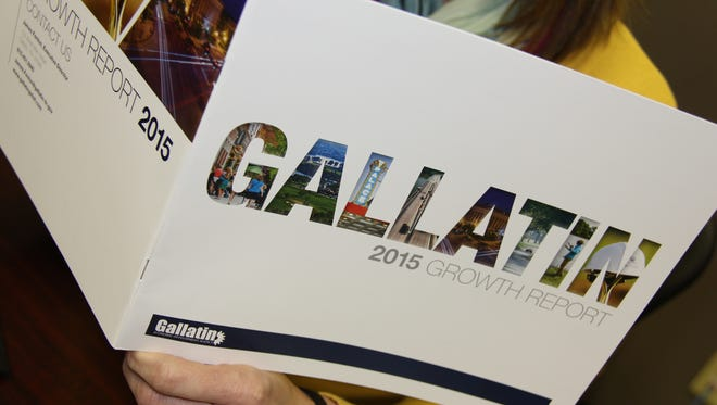 The Gallatin Economic Development Agency released its 2015 Growth Report on Monday detailing job growth, estimated capital investments and new building and business developments in the city.