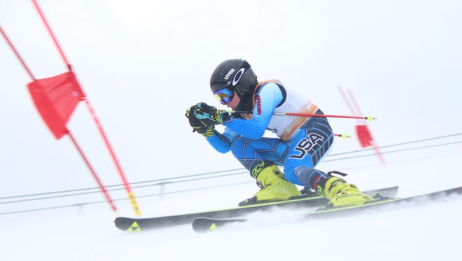 Brighton freshman Andrew Myers had the best overall finish in the Mt. Brighton High School Ski Association meet, taking second in slalom and first in giant slalom.