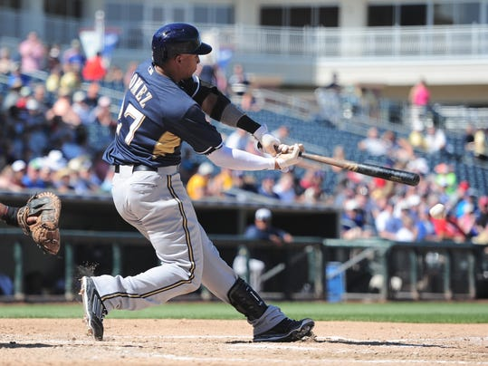 MLB: Milwaukee Brewers at Texas Rangers