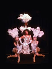 Linda Miller, center, will perform in the Las Vegas-style
