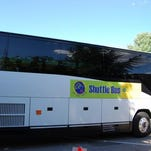 Shuttle buses will transport attendees to Art in the Park.