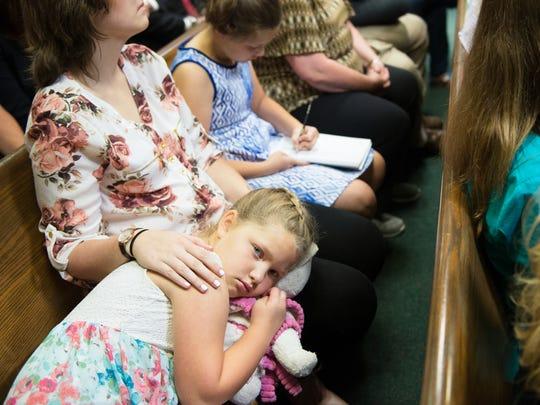 Erin Carver, 8, half sister of Charles David Carver,