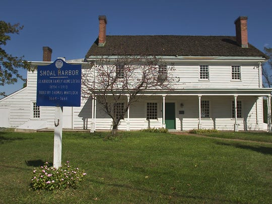 Exterior of the Spy House Museum in the Port Monmouth section of Middletown.