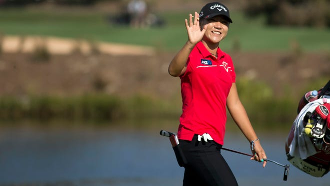 One LPGA fan could play with Lydia Ko if they win the long drive competition at the Chicago Golf Show this weekend.