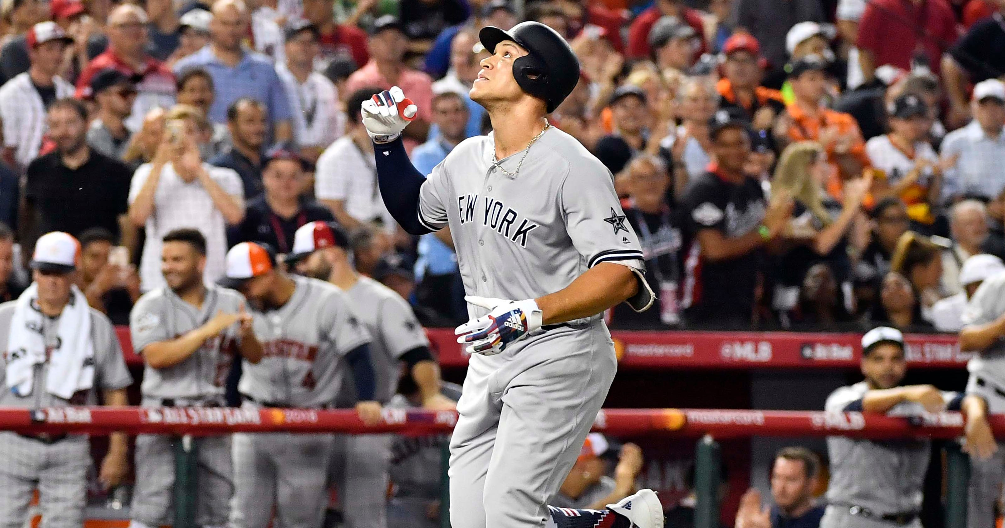 aa6b46b2c9c Aaron Judge cranks HR at MLB All-Star Game off of Max Scherzer