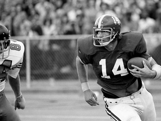 Former Jets quarterback Richard Todd played his college ball at Alabama.