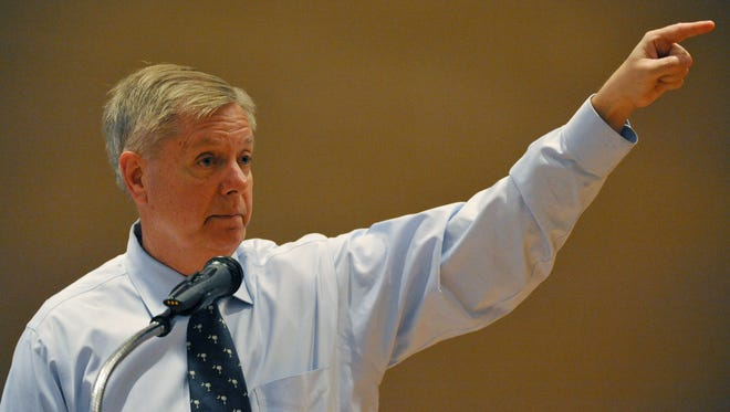 U.S. Sen. Lindsey Graham, R-S.C., faces six challengers in the June 10 primary.