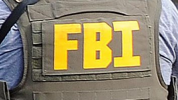 FBI agent vest in file photo.