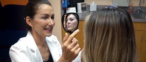 Most popular plastic surgeries include breast augmentation, liposuction