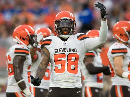 Browns linebacker Christian Kirksey is entering his seventh season.