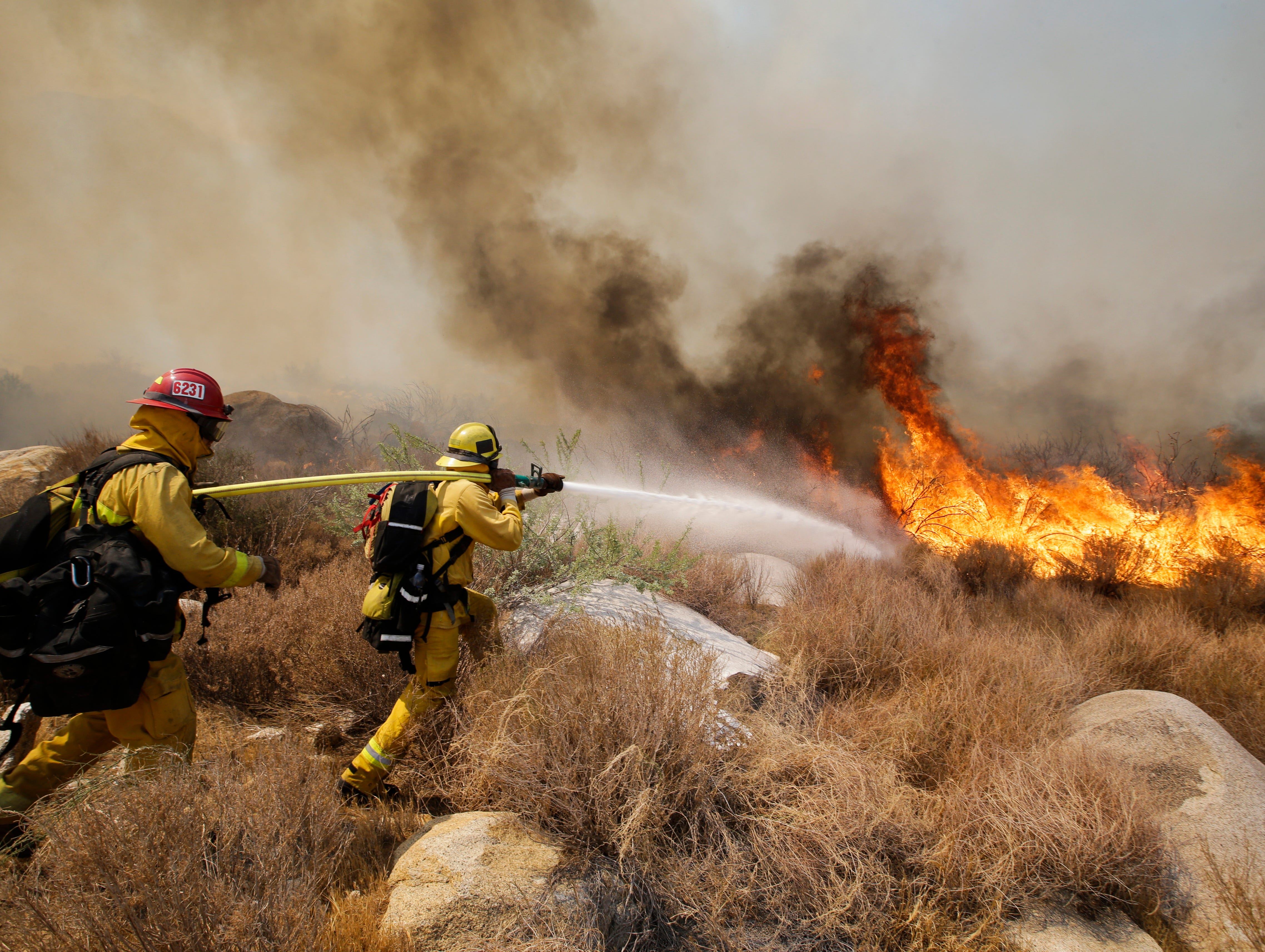 Calif. wildfire