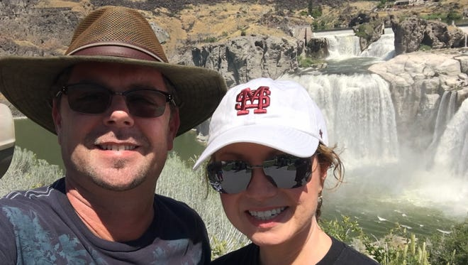 Kevin Harrison and his wife, Lynda, are on a mission to spend a night in every state.